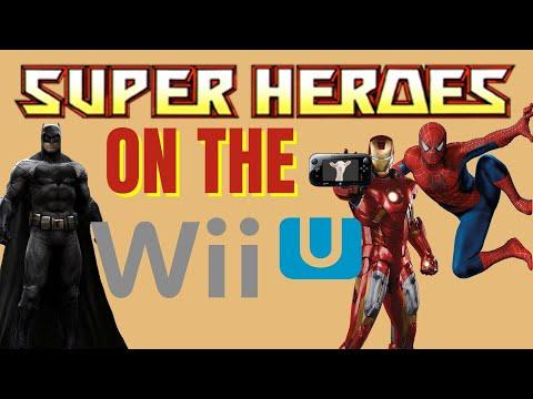 Super Hero Games on the WiiU |