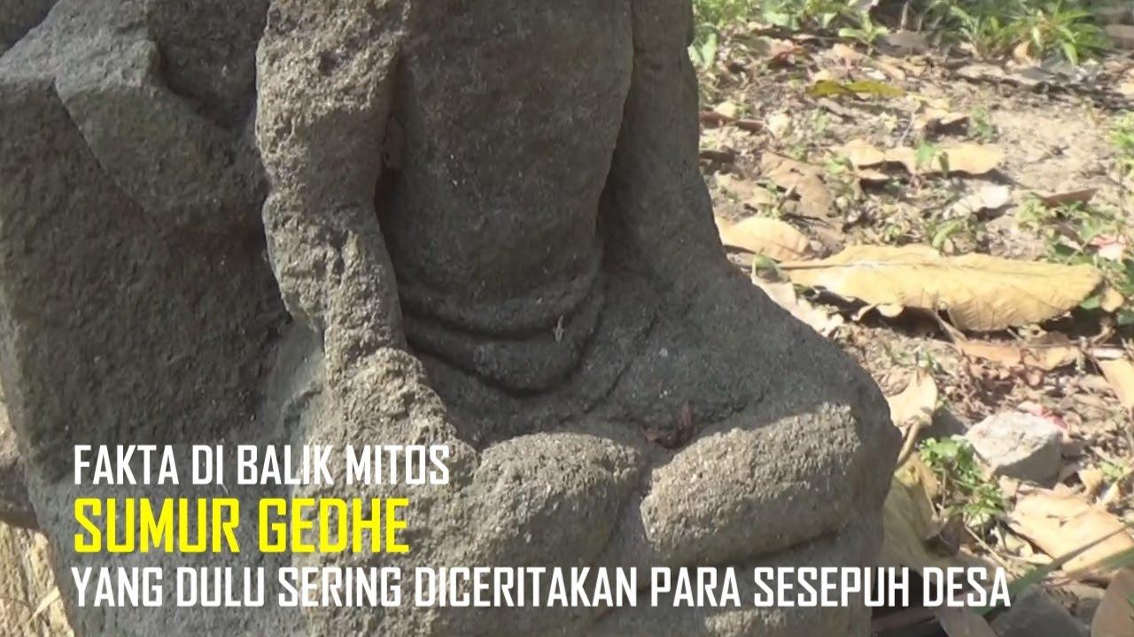 Heboh Warga Temukan Dua Arca Kuno Terpendam di dalam Tanah