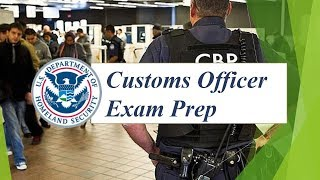 Customs Officer Exam Prep (40 Questions with Fully Explained Answers)
