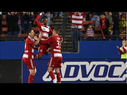 GOAL: Jackson steals the ball from Saunders and scores | FC Dallas vs. Real Salt Lake