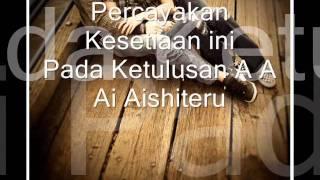 Video Aishiteru / Menunggu Zivilia (Zifhilia) with lyric download MP3, 3GP, MP4, WEBM, AVI, FLV Oktober 2017