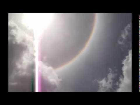 Sun Halo-Ring around the sun! Trinidad April 14th 2012