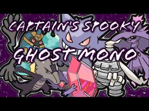Captain's Spooky Ghost Mono - Pokemon Brick Bronze