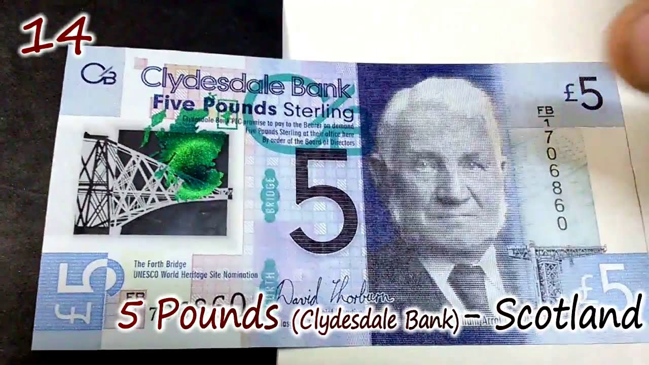 World Currency Polymer Bills