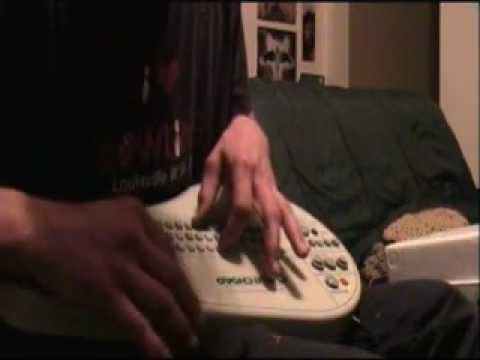 Patrick Thompson making noise on an Omnichord system two