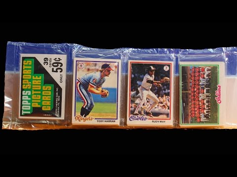 1978 Topps Baseball Rack Pack Opening Possible Paul Molitor Eddie Murray Rookie