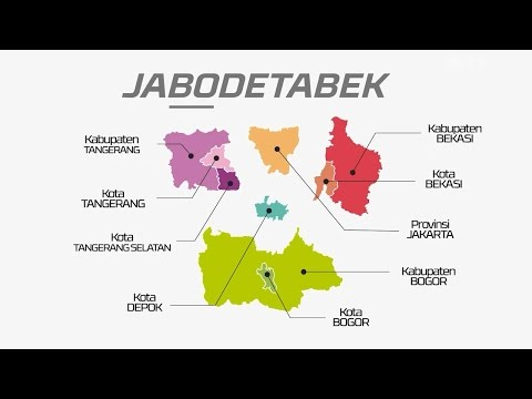 Rencana Induk Transportasi Jabodetabek (RITJ) Animated