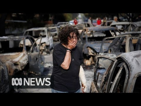 Greece wildfires: Survivors thought they would be burned alive