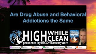 Are Drug Abuse and Behavioral Addictions the Same