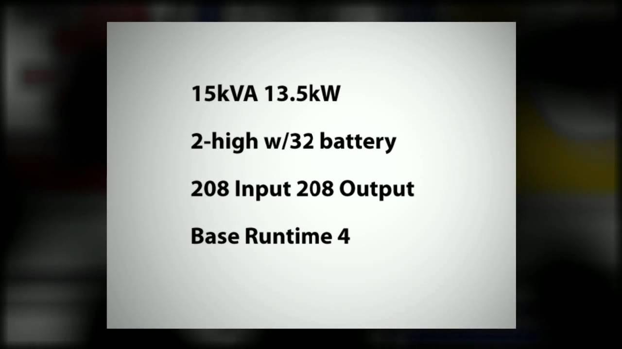 EMC Battery - EATON POWERWARE PW9355 15KVA TOWER UPS KA1511100000010