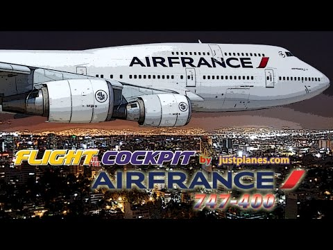 "Air France 747-400 ""Queen of the Skies"""