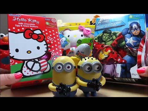 SANRIO Hello Kitty Vs Marvel Avengers & Hulk Chocolate ...