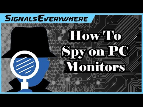 How to Spy on Computer Monitors | TempestSDR Tutorial (with