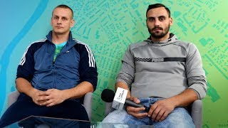 Rozmowa z trenerem Mateuszem Movsisyanem i Grzegorzem Mulinkiem