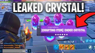 Scammer Has *NEW* Leaked Crystals! (Scammer Gets Scammed) Fortnite Save The World - EazyDrop