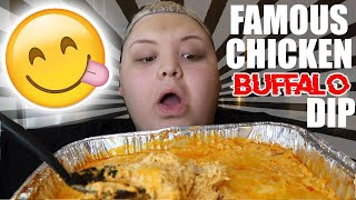 CHEESIEST buffalo chicken recipe 😍 | AdamRayOkay