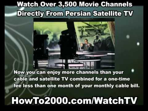 Persian Satellite TV | Watch Over 3500 Movie Channels!