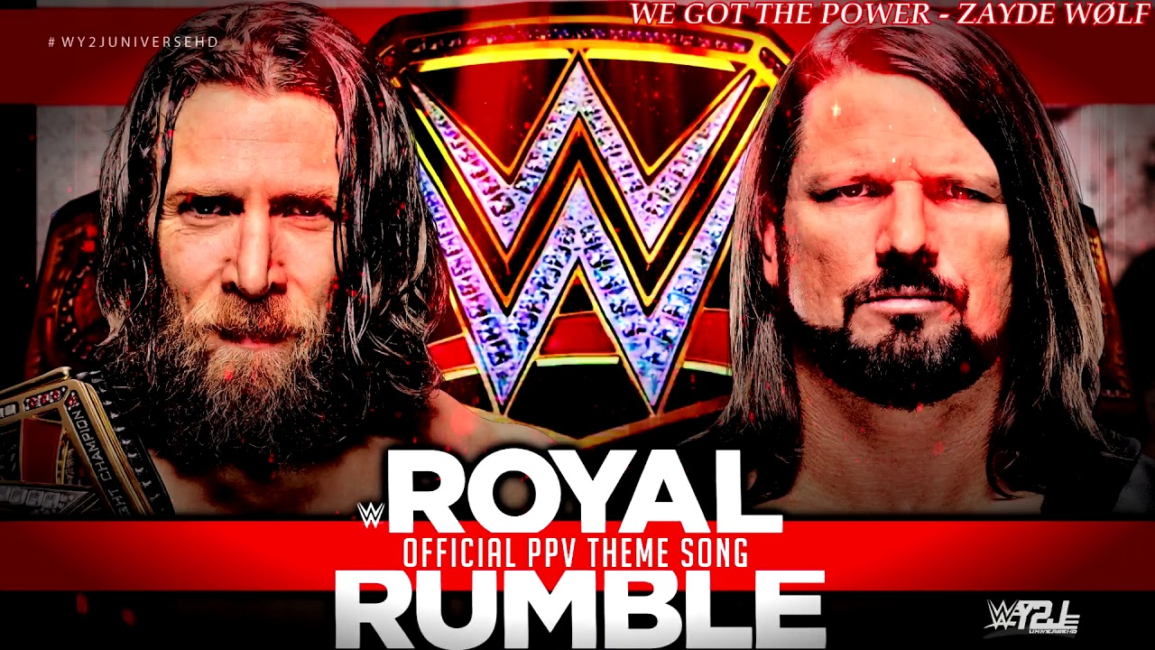 WWE - Royal Rumble 2019 Official Theme Song -