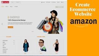 كيفية إنشاء موقع للتجارة الإلكترونية في || Wordpress2017 ||باستخدام html.css.js Php