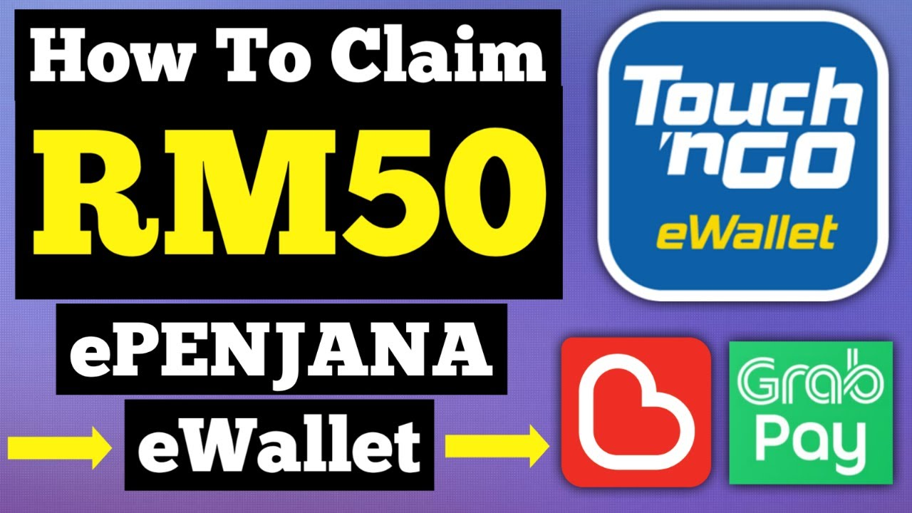 How To Claim Rm50 Epenjana Rm50 Into Your Ewallet Youtube