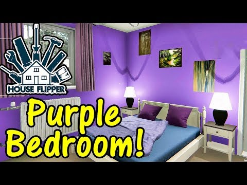 Let's Play House Flipper #27: Perfect Purple Bedroom!