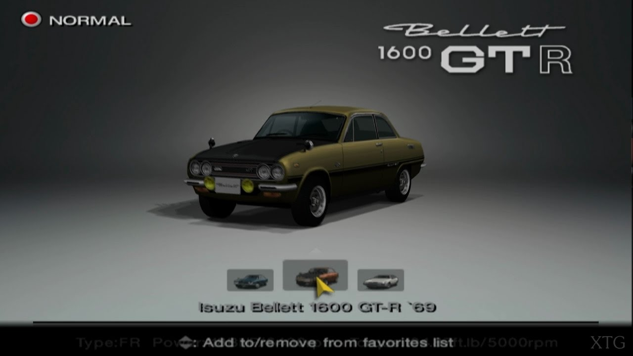 gran turismo 4 isuzu car list ps2 gameplay hd youtube. Black Bedroom Furniture Sets. Home Design Ideas