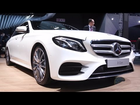 2017 Mercedes-Benz E-Class - 2016 Detroit Auto Show