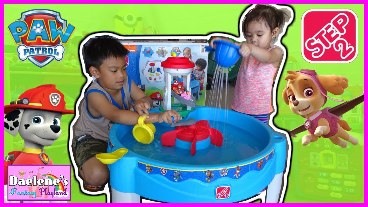 STEP2 PAW PATROL WATER TABLE Kids Outdoor Play Toys and Kids Water ...