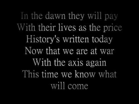 sabaton primo victoria lyrics