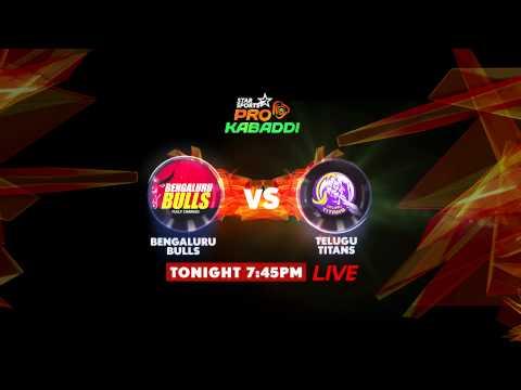 26th Aug: Bengaluru Bulls vs Telugu Titans