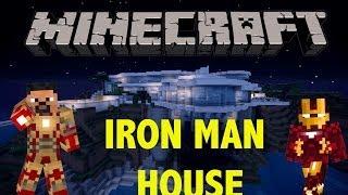 Minecraft - BEST FULL SCALE IRON MAN HOUSE 1080p