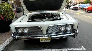 1964 PERSIAN WHITE CHRYSLER IMPERIAL CROWN CONVERTIBLE SHRINERS EDITION 'A64IMP'