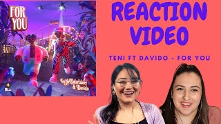 Just Vibes Reaction / Teni ft Davido - For You *OFFICIAL MUSIC VIDEO*