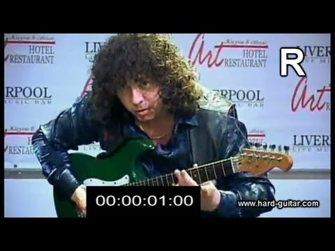 27 Notes Per Second On Guitar - Guinness Record