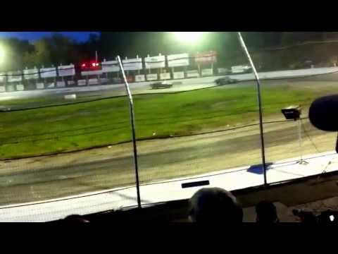 The knight of destruction tour of destruction live at lake county speedway backword driving