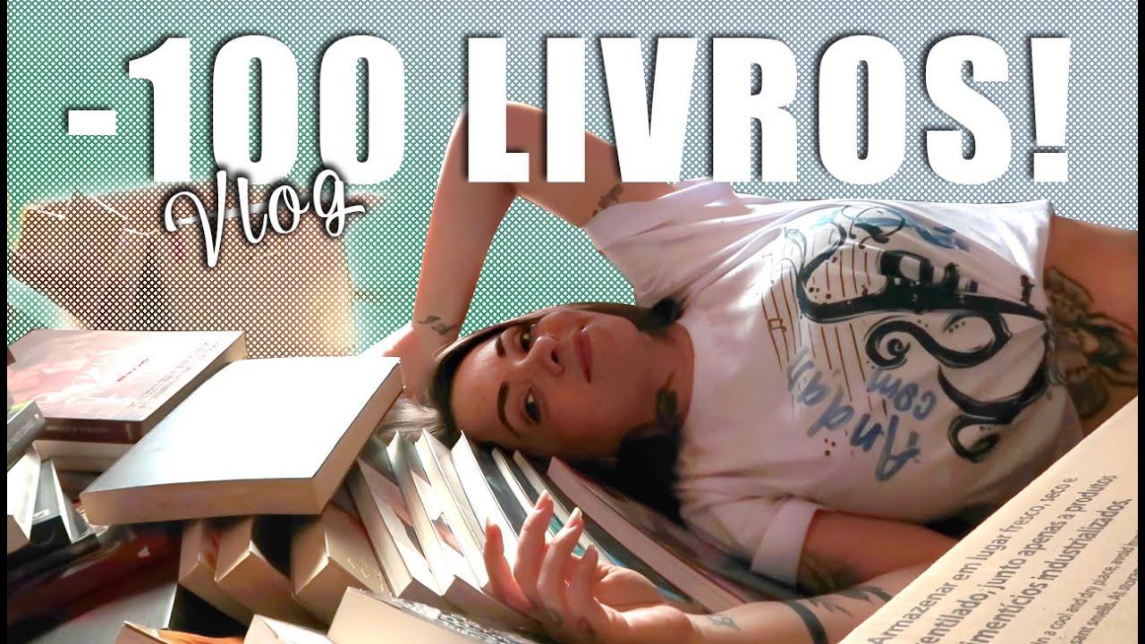 BOOK UNHAUL | Desapegando de +100 LIVROS! Bem Vloguezinho!