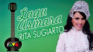 Rita Sugiarto  Lagu Asmara  Visual Lirik