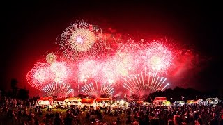 [ 4K Ultra HD ] 土浦花火づくし 2015 Tsuchiura Fireworks (Shot on RED EPIC)