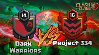 MELHORES ATAQUES #3- Dark Warriors vs Project 334- CLASH OF CLANS
