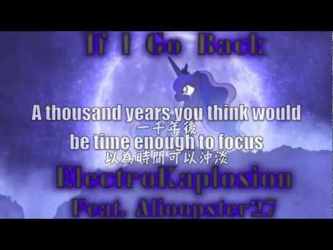 If I Go Back (Feat. Alioopster27) {Original Song} [Luna] (中文字幕)