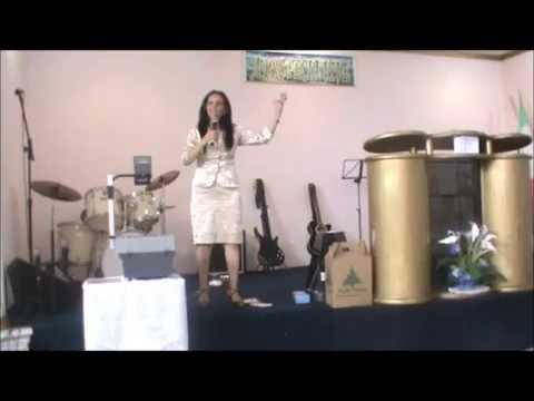 Pastora Claudionora cardoso - Débora e Jael - Mulheres Virtuosas -IBR Paiçandú