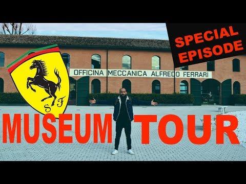 ΠΗΓΑ ΣΤΟ ΜΟΥΣΕΙΟ ΤΗΣ FERRARI  (FERRARI MUSEUM MODENA & MARANELLO)