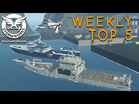 Stormworks Weekly Top 5 Workshop Creations - Episode 10 (22nd - 28th)