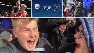 Barnsley 2 Blackpool 1   PROMOTION ON THE HORIZON!!!!   Matchday Vlog#52