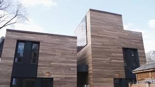University of Toronto Laneway Housing Project Ash Siding