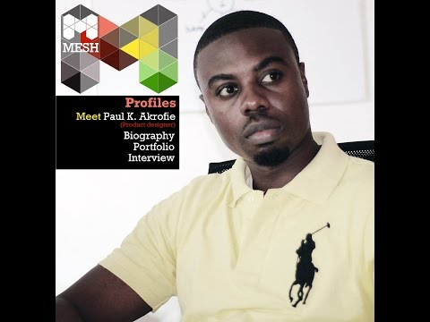 MESH Profile Interview; Paul Kweku Akrofie, Product  Designer/ Founder, RPC