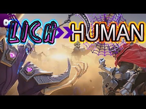 Art of Conquest How to defeat Human with Lich