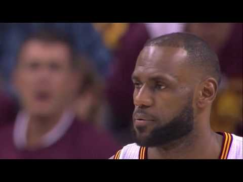 Lebron James gets mad at kyrie Irving after he dominated the Boston Celtics. Irving the real king