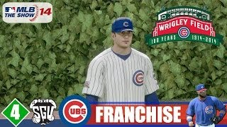 MLB 14: The Show (PS4) Chicago Cubs Franchise - EP4 (vs Pirates)