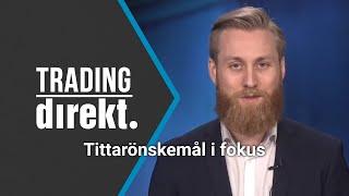 Trading Direkt 2020-02-14: Rapporter och tittarnas önskemål i fokus!